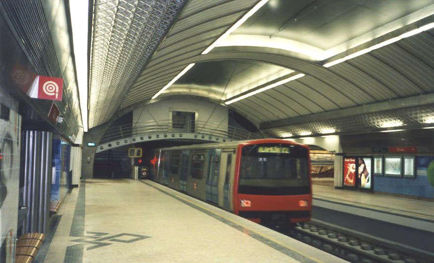 Metro - Estação Roma