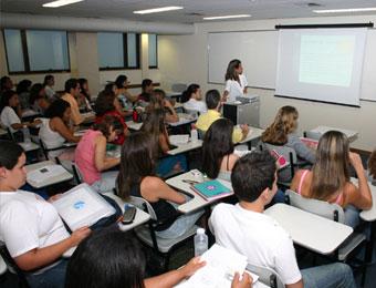 Lição em sala de aula